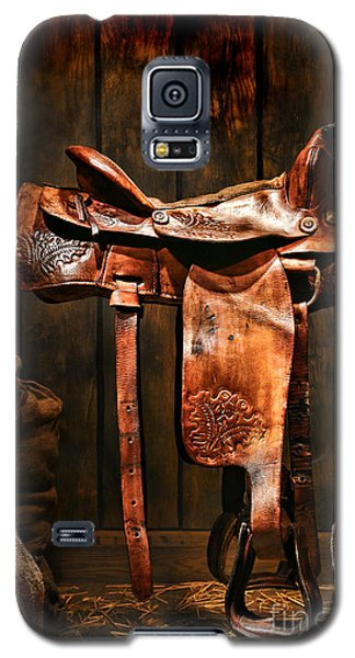 Old Western Saddle Galaxy S5 Case