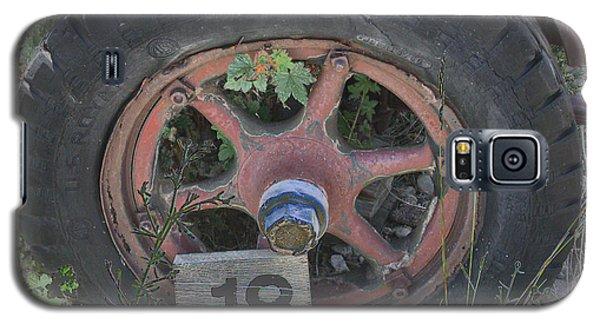 Old Wheel Galaxy S5 Case