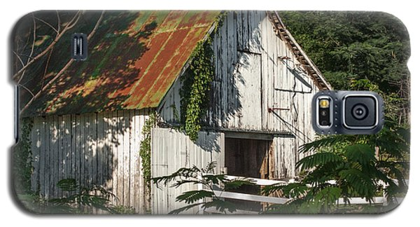 Old Whitewashed Barn In Tennessee Galaxy S5 Case by Debbie Karnes