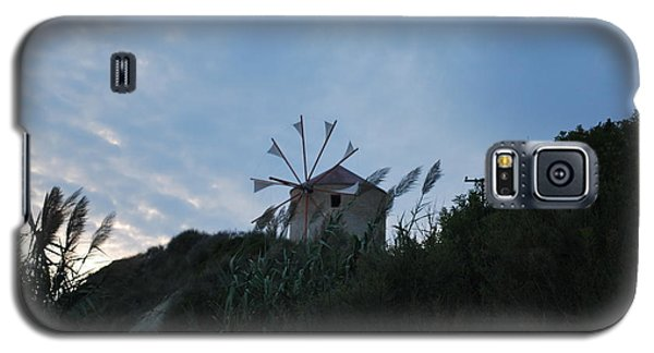Old Wind Mill 1830 Galaxy S5 Case by George Katechis