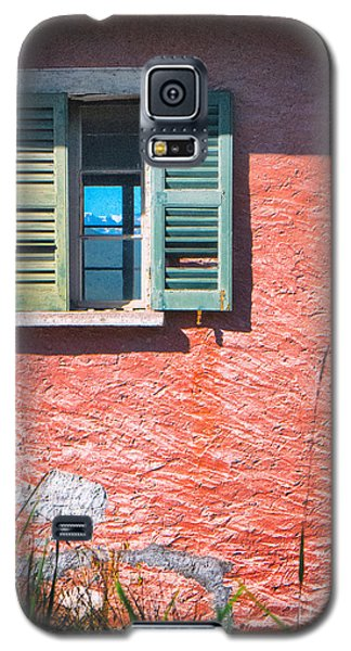 Galaxy S5 Case featuring the photograph Old Window With Reflection by Silvia Ganora