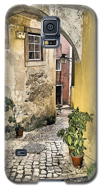 Old World Courtyard Of Europe Galaxy S5 Case