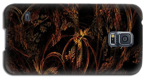 Old World Floral Galaxy S5 Case by Linda Whiteside