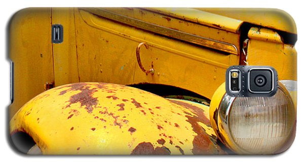 Old Yellow Truck Galaxy S5 Case by Art Block Collections