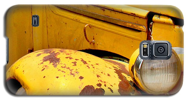 Old Yellow Truck Galaxy S5 Case