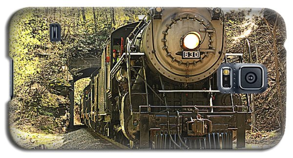 Galaxy S5 Case featuring the photograph Ole' #630 Steam Train by Tammy Schneider