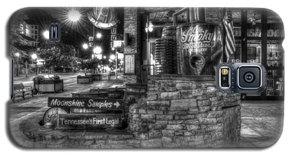 Ole Smoky Tennessee Moonshine In Black And White Galaxy S5 Case