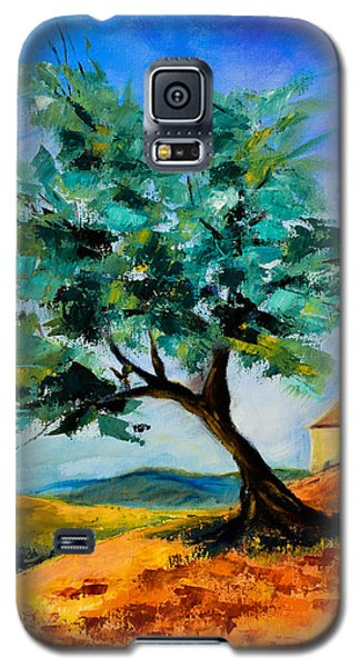 Olive Tree On The Hill Galaxy S5 Case