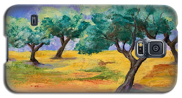 Olive Trees Grove Galaxy S5 Case