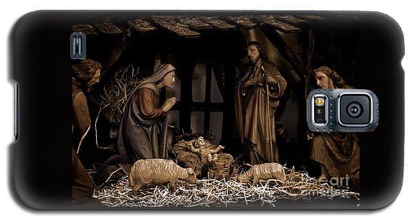 Olive Wood Nativity  Galaxy S5 Case