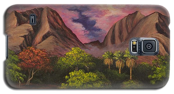 Olowalu Valley Galaxy S5 Case