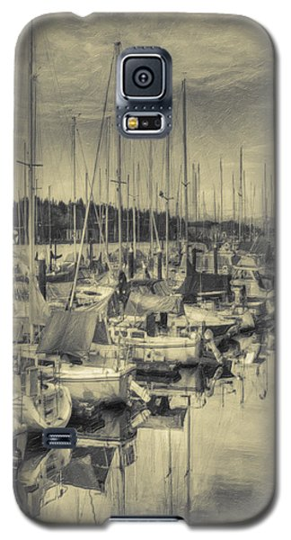 Galaxy S5 Case featuring the photograph Olympia Marina 3 by Jean OKeeffe Macro Abundance Art