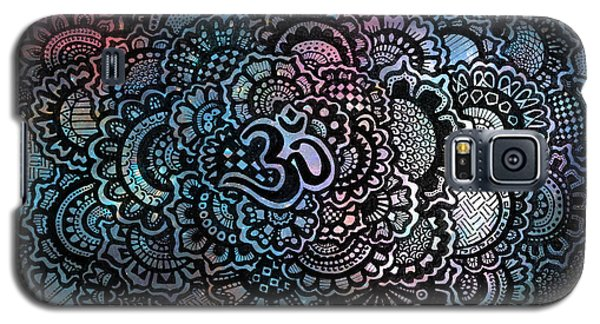 Decorative Galaxy S5 Case - Om Sweet Om by Andrea Stephenson