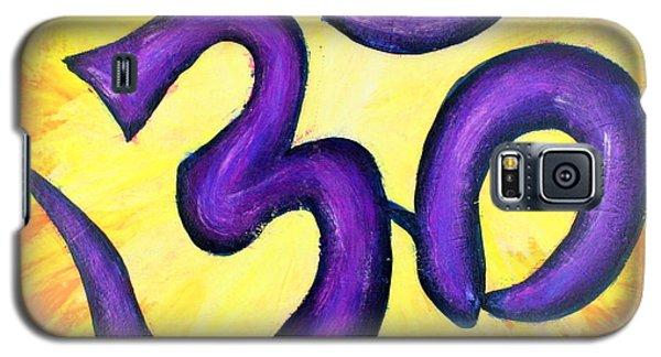 Om Symbol Art Painting Galaxy S5 Case