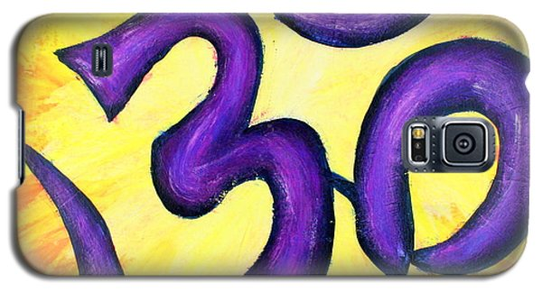 Om Symbol Art Painting Galaxy S5 Case