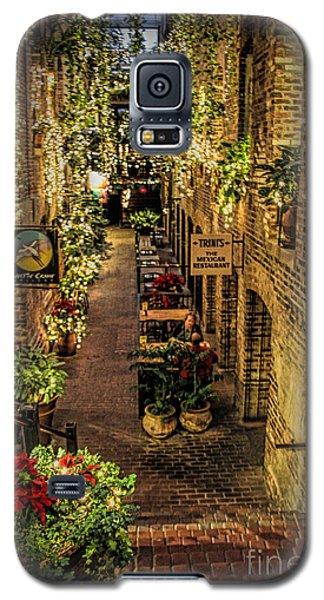 Omaha's Old Market Passageway Galaxy S5 Case by Elizabeth Winter