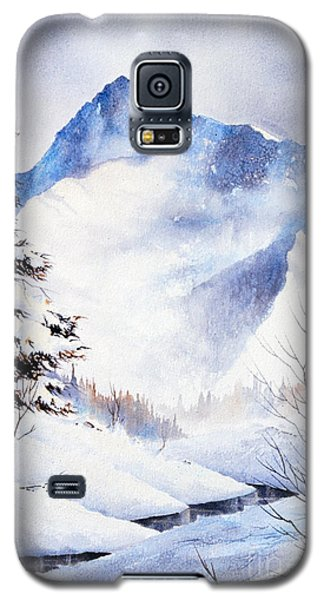 Galaxy S5 Case featuring the painting O'malley Peak by Teresa Ascone