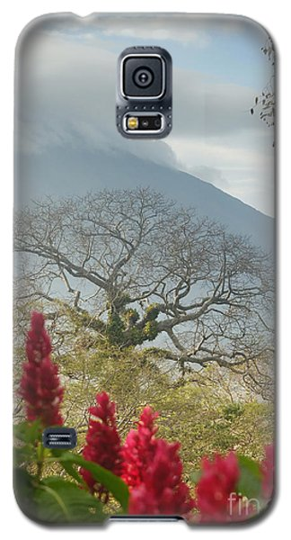 Galaxy S5 Case featuring the photograph Ometepe Island 1 by Rudi Prott