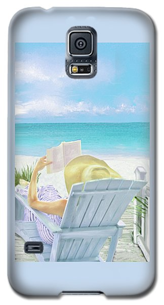 On Beach Time Galaxy S5 Case