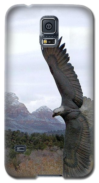 On Eagles Wings Galaxy S5 Case