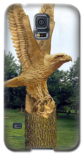 Galaxy S5 Case featuring the digital art On Eagle's Wings by Doug Kreuger