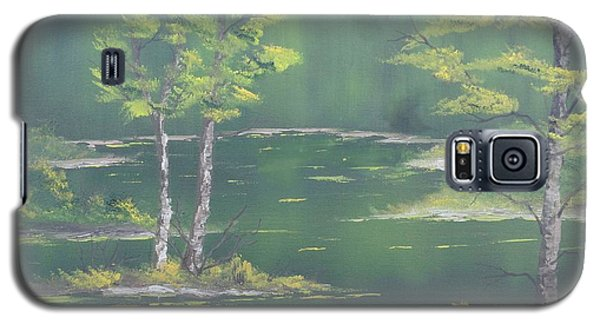 On Emerald Pond Galaxy S5 Case