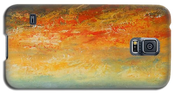 On Fire Galaxy S5 Case by Jane See