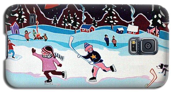 On Frozen Pond Galaxy S5 Case by Joyce Gebauer