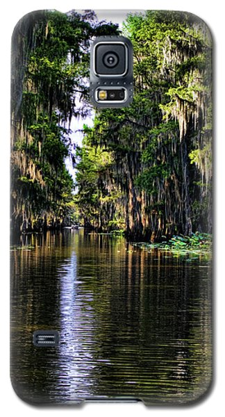 On Golden Canal Galaxy S5 Case