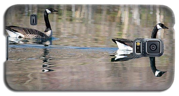 On Golden Pond Galaxy S5 Case by Mike Dawson