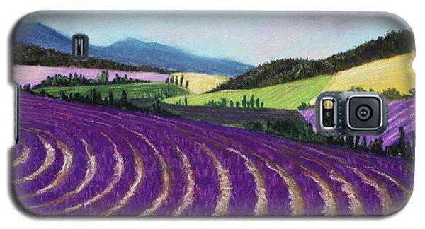 On Lavender Trail Galaxy S5 Case by Anastasiya Malakhova