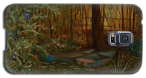 On Monet's Pond Galaxy S5 Case
