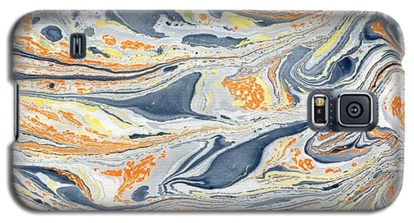 Galaxy S5 Case featuring the painting On Mount Doom by Menega Sabidussi