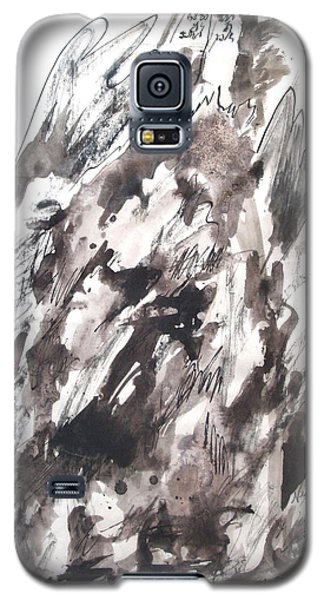 Galaxy S5 Case featuring the painting On Mount Sinai by Esther Newman-Cohen