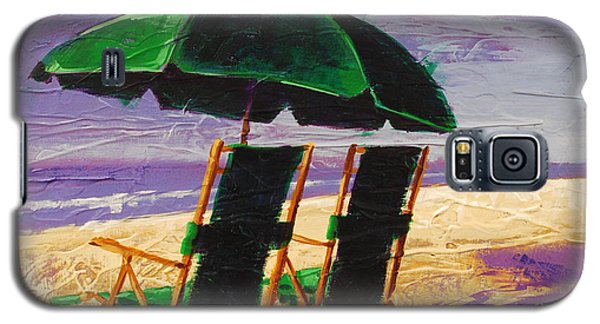 On The Beach Galaxy S5 Case
