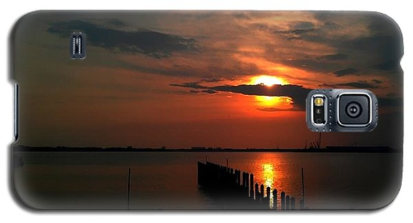 Galaxy S5 Case featuring the photograph On The Boardwalk by Debra Forand