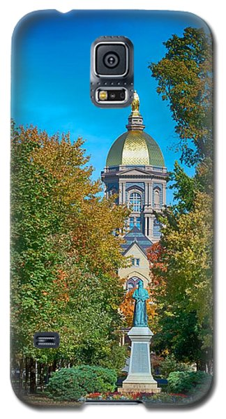 On The Campus Of The University Of Notre Dame Galaxy S5 Case by Mountain Dreams