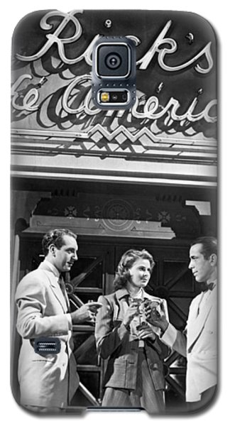 On The Casablanca Set Galaxy S5 Case