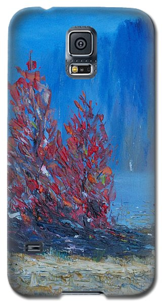 Galaxy S5 Case featuring the painting The Woodlands Of Lough Hyne by Conor Murphy