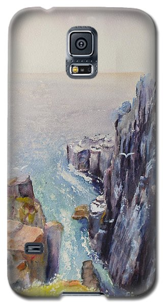 On The Edge Of The Cliff Galaxy S5 Case
