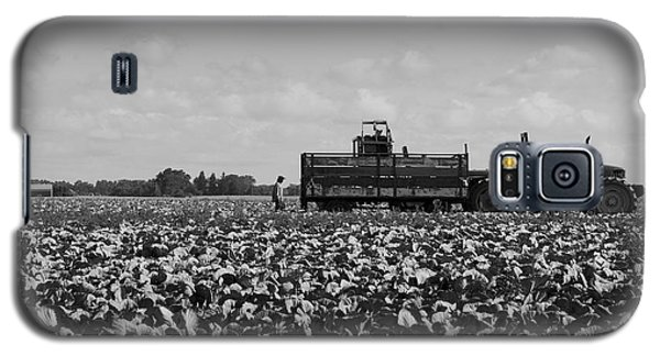 Galaxy S5 Case featuring the photograph On The Farm by Ricky L Jones