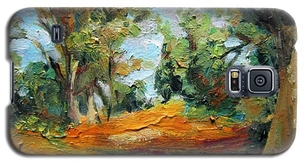 On The Forest Galaxy S5 Case by Jieming Wang