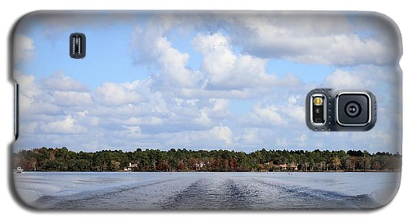 Galaxy S5 Case featuring the photograph On The Lake by Debra Forand