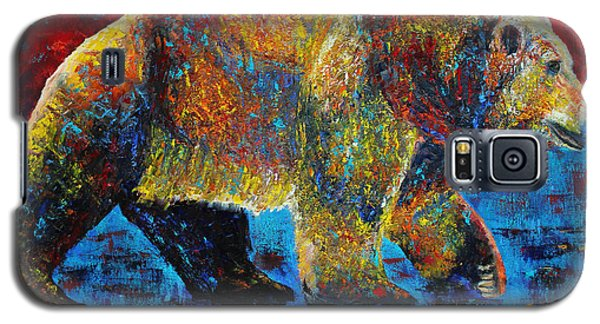 Galaxy S5 Case featuring the painting On The Move by Jennifer Godshalk