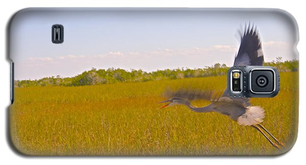 Galaxy S5 Case featuring the photograph On The Move by Judy Kay