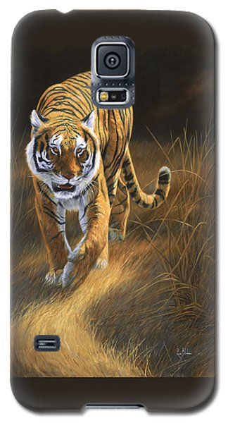 Tiger Galaxy S5 Case - On The Move by Lucie Bilodeau