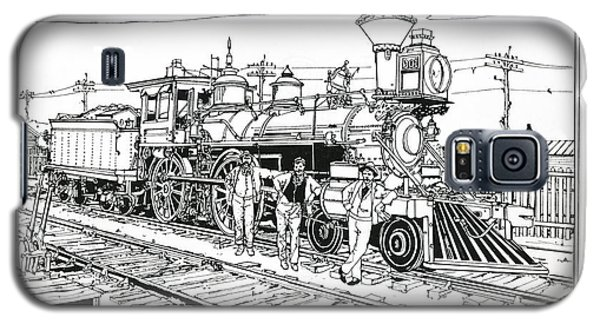 On The Old Pennsy Galaxy S5 Case by Ira Shander