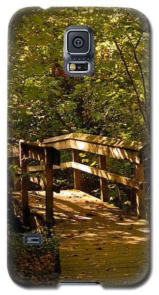 Galaxy S5 Case featuring the photograph On The Path by Lena Wilhite