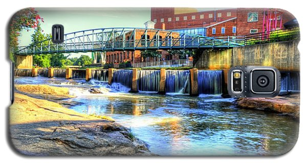 On The Reedy River In Greenville Galaxy S5 Case