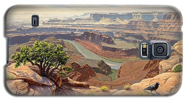 Raven Galaxy S5 Case - On The Rim-dead Horse Point by Paul Krapf